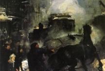 Street Scene Paintings / by Gypsy