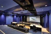 D u b b i n g S t a g e s / The best re-recording theatre's, mixing stages, film mixing rooms.
