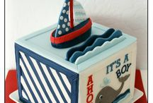 Nautical Baby Shower / Now that yours is done, you can see the one we did :) / by Lydia Moore