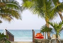 West Bay Beach / One of the best beaches in the world. Located on Roatan's West Bay Beach, Honduras
