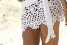 Tejido ropa para playa