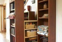 under stair for storage idea