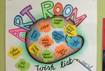 Art room ideas / Art