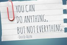 Inspirational Quotes / Feeling down or negative? Time to get inspired! These quotes may do the trick.
