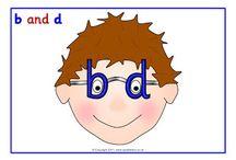 b/d Reversal Strategies / Ideas to address b/d letter reversals