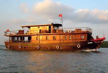 Bassac Cruises, Mekong Delta / Cruises in the Mekong