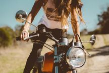 Bicycles + motorcycles