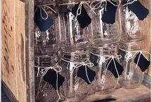 Reaproveitando,reciclando e decorando... / Decoração com idéias em reaproveitamento.