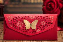 Envelopes, Gift wrappings - stylish design