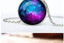 diy galaxy jewelry