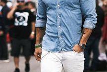 Chemises en jeans