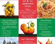 """Le Festival de la Tomate au Chateau de la Bourdaisière / L'édition 2016 """"Spécial Italie"""""""