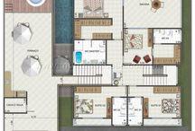 Casa tres niveles