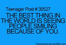 Quotes / the best thing in the world is seeing someone smiling because of you