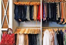 CLOSETS / closets, dressing areas, and jewelry, bag, and shoe storage. / by Ingrid @ {Houndstooth and Nail}