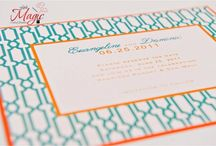 Stationery / Beautiful wedding invitations to fun party invitations and everything in between / by Wedding and Party Network