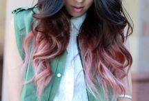 gettin my hurrr did / Hair colour inspiration. Let me do this to you