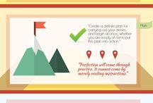 Napoleon Hill Foundation Infographics / Infographics by and liked by The Napoleon Hill Foundation