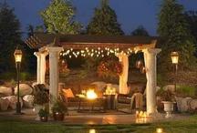 Garden & outdoor entertainment areas
