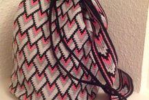 mochila de colores
