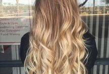 Ombre Hair Blonde Long