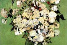 A Vase of Roses - Vincent van Gogh