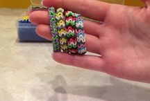 loom bracelets / by Kimberly Mencke