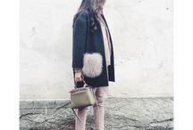 Coat + fur detail - 뉴도토리