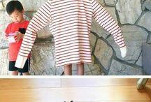 платье для детей из рубашки