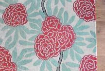 Decorating - Chinoiserie - Aqua + Red