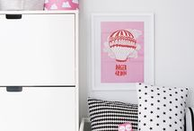 Favourite brands ★ Farg & Form / Farg en Form is een Zweeds merk, dat prachtige kinderkamer accessoires ontwerpt. Zij zijn bekend geworden met het mooie retro wolkenpatroon uit de jaren 60.