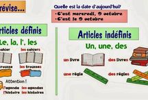articles definis indefinis