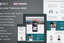 Apps Showcase WordPress Themes