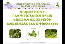 Vídeos ISO 14001. Gestión ambiental / Información sobre los sistemas de gestión ambiental basados en la norma ISO 14001.