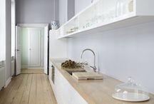 interiores madera blanco gris