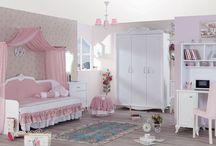 Kızımın odası / Kız çocuk için oda fikirleri