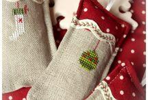 segnaposti e addobbi natalizi