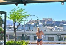 Athens Views / With the views of the Acropolis and Lycabettus Hill at the Roof Garden at The Stanley, Athens has never looked so good.