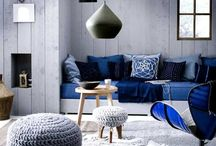 AW15 Home Colour Trends: Indigo Interiors / www.stylehuntercollective.com.au · A comprehensive style directory of designers and on-line boutiques, accessories, hair & beauty stylists, and skincare. Latest trends, what's hot #SHCollective