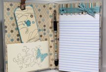 Paper Crafting / Projects made with crafting tools, paper, stamps, stickers. Non cards and scrapbooking paper crafts.