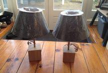 Lampe, luminaire / Lampes et luminaires en bois