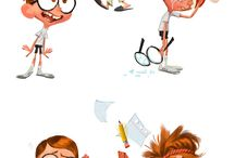 Cartoon chara design