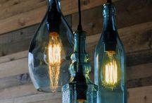Lampen country house / landelijk rustiek