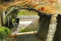 ART / Живопись, архитектура и красивые места.