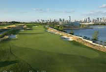 Liberty National Golf Club / I've photographed Liberty National on several occasions.  It is quite a spot for a golf course....located on New York harbor with great views of the NYC skyline, the harbor and the Statue of Liberty.