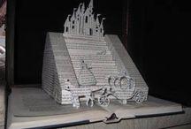 Book Sculpting / Book Art