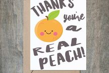Friendship + Thank You Cards