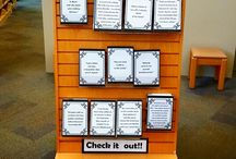 Library Displays / All sorts of different library displays