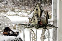 Fairy houses and bird houses
