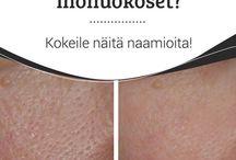 Ansiktsmask, minskatr porerna